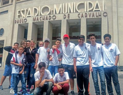 Alunos do Colégio Santa Marta